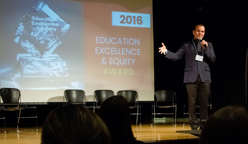 National Award for Education Excellence and Equity Honors SFUSD Assistant Superintendent Karling Aguilera-Fort